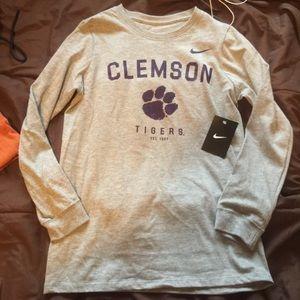 clemson tigers long sleeve top